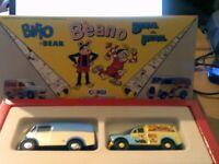 Corgi 81357 The Beano Comic Classics Biffo The Bear & Beryl the Peril New Boxed.