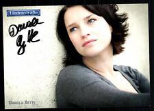 Daniela Bette Lindenstraße Autogrammkarte Original Signiert ## BC 31554