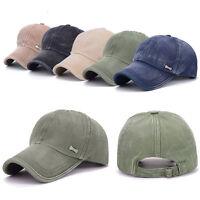 Men Women Vintage Snapback Baseball Ball Cap Outdoor Sports ARMY Hats Adjustable
