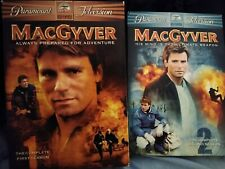 Macgyver season 1 and 2 complete seasons dvd sets original series