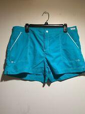 Nautica Women's Turquoise Swim/Board Shorts Trunks~Size XL