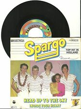 """Spargo, Head Up To The Sky, G/VG, 7"""" Single, 1509"""
