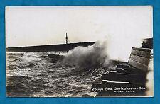 1922 RP PC ROUGH SEA, GORLESTON-ON-SEA (WILLIAMS SERIES)