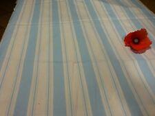 rayures bleues  2m,20x1,78 tissu toile de matelas neuve