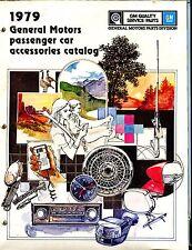 1979 GM Passenger Car Accesories Catalog Automobile Brochure EX 021917jhe