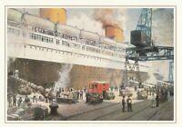 Dampfer Bremen Jahr 1935 Postverkehr Deutschland-USA mit Sonderstempel 1993