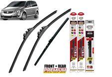 "VW Touran 2006-2010 full set quality windscreen wiper blades 24""18""12"""