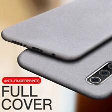 Sandstone Matte Ultra Slim Rubber Silicone Shockproof Soft Phone Back Case Cover