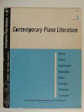 Assolo di pianoforte PIANOFORTE contemporanea LETTERATURA 4, Frances Clark 1957
