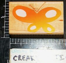 DOTTED BUTTERFLY SOLID RUBBER STAMP HERO ARTS