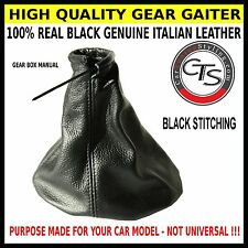 ASTRA MK4 G TS BLACK STITCH GEAR STICK KNOB COVER GAITER