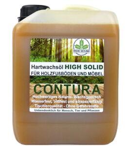 2,5 Liter Hartwachsöl High Solid Holzöl Fußböden Möbel 17€/L Holzschutz Wachs Öl