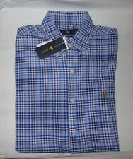 NWT MENS POLO RALPH LAUREN S/S BUTTON-UP SHIRT~SLIM FIT~SM