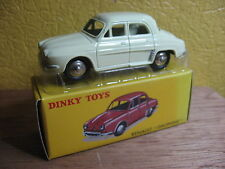 DINKY TOYS ATLAS RENAULT DAUPHINE  REF 24 E BLANCHE