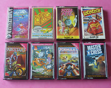 Commodore 16 C16/Plus 4 - COLLECTION of EIGHT GAMES