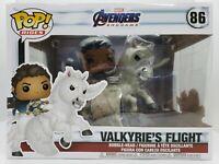 Funko Pop! Rides Marvel Avengers Endgame #86 Valkyrie's Flight Damaged Box