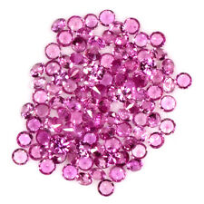 5.83 Cts Natural Lustrous Pink Sapphire Round Cut Lot Ceylon 2.2 upto 2.3 mm $