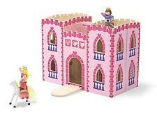 Melissa & Doug Falt- und tragbares Prinzessinnen Schloss Puppenhaus
