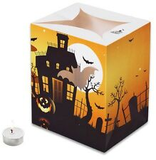 HAUNTED CASTLE HALLOWEEN CANDLE BAGS - 5 Pack