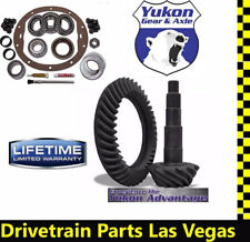 Yukon GM Chevy 8.5 8.6 4.56 Ring Pinion Gear Set Master Kit Timken Lifetime Warr
