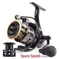 Fishing Reel HE1000-7000 Max Drag 10 kg High Speed Metal Spool Spinning Reel