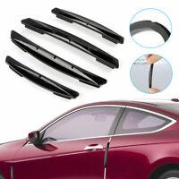 4pcs Auto Car Door Edge Scratch Anti-collision Protector Guard Strip Accessories