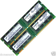 1GB (2x512MB) DDR 133 Mhz PC133 168pin memoria RAM de escritorio sin ECC sin búfer