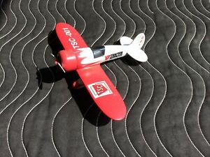 Tractor Supply MODEL AIRPLANE BANK - DIECAST By SPEC CAST 15th in Series TSC-001