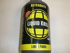 Nutrabaits Flüssigkeit Krill 500ml Karpfen angeln köder