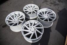 20x8.5 / 20x11 F1R F29  5X120 +20 Silver Wheels Fits Bmw 528 535 550 E60 (Used)