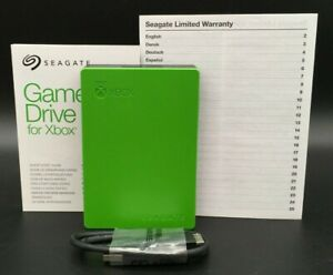 Seagate Game Drive for Xbox 4TB USB 3.0 External Hard Green STEA4000402 *USED*
