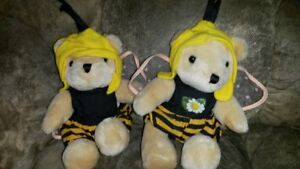 Lot of 2 bee bears