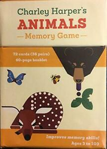 Charley Harpers Animals Memory Game by Harper, Charley, NEW Book, FREE & FAST De