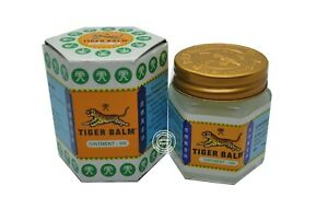 30g Tiger Balm White Relief Muscular Aches Pain Sprains Ointment Massage Adult