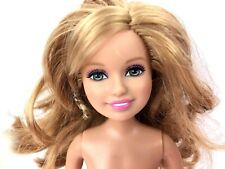 Barbie and Stacie Sisters Pup Walk Doll Blonde Hair