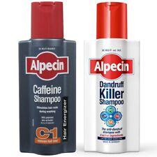 Alpecin Dandruff Killer 250ml Caffeine Shampoo 250ml Duo Anti Hair Loss Scalp