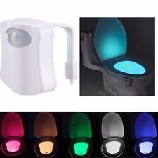 LED WC-Sitz Sensor Nachtlicht mit Bewegungsmelder Nachtlampe Nachtlichter Licht
