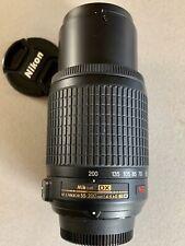 Nikon Nikkor Zoom Lens AF-S DX VR 55-200 f/4-5.6G IF-ED + UV Filter + Nikon Bag