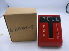 NEW NATIONAL TIME & SIGNAL 620M FIRE ALARM RED PULL STATION
