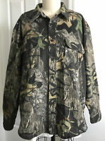 Cabela's Mossy Oak Camo Breakup Hunting Button Down Shirt Size XL Reg Cabelas