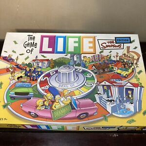 The Game of Life - 2004 The Simpsons Edition  - Used - Complete