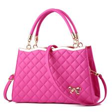 Women Faux Leather Shoulder Handbags Messenger Satchel Bags Crossbody Tote Purse
