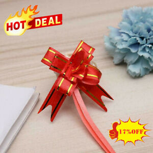 200pcs Pull Bow Quality Gift Present Wrap Ribbon Wedding Party Birthday Hot G4B6