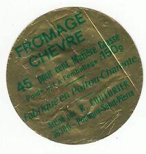 FROMAGE  DE CHEVRE  CROTTIN R COUTURIER AFFINEUR  POULIGNY ST PIERRE