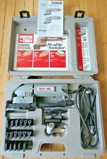Porter Cable Profile Sander Kit Model 444 w/ Accessories and Case - Very Nice!