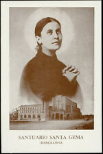"santino-holy card""S.GEMMA GALGANI 6"