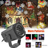 Outdoor LED Moving Laser Projector Landscape Stage Light Party Xmas Christmas