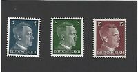 ***SPECIAL***   Small MNH stamp set / Adolph Hitler / WWII Germany / Third Reich