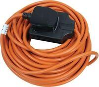 Masterplug 13 Amp 1 Gang 10M Outdoor Garden Mains Extension Lead BOG10O-MP