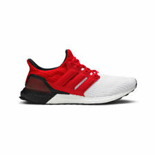 Adidas Men's Ultraboost 4.0 G28999 Cloud White/Scarlet Running Shoes SZ 7-13